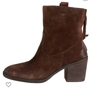 Sam Edelman Farrell Suede Ankle Boots